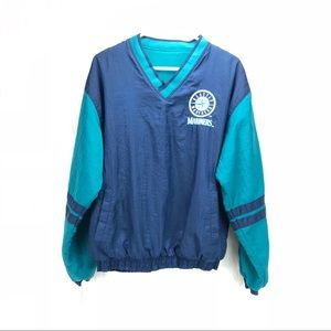 Seattle Mariners Vintage fleece lined windbreaker